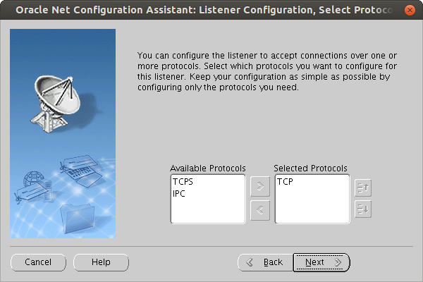Oracle 12.2 Listener installation