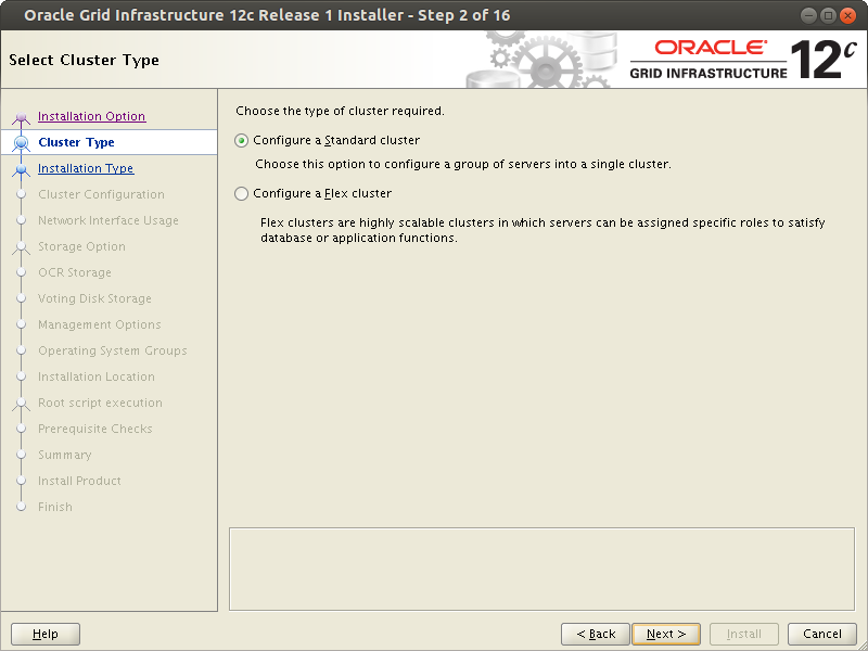 Oracle RAC installation Shared File System