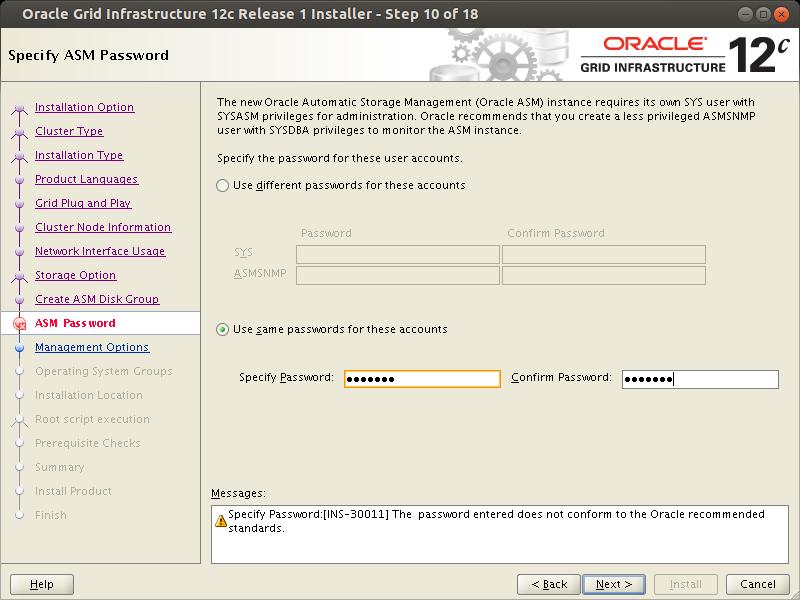 Oracle RAC installation ISCSI ASM