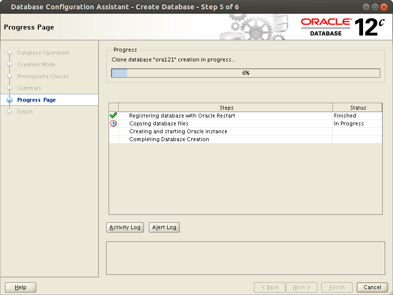 oracle database software installation